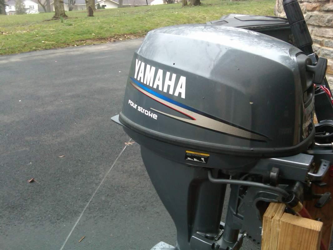 Yamaha 15 hp four stroke for sale for 2004 yamaha 15 hp 4 stroke