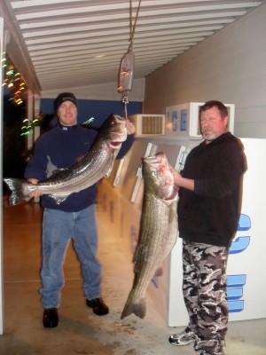Pre-Christmas Striper fishing Attachment